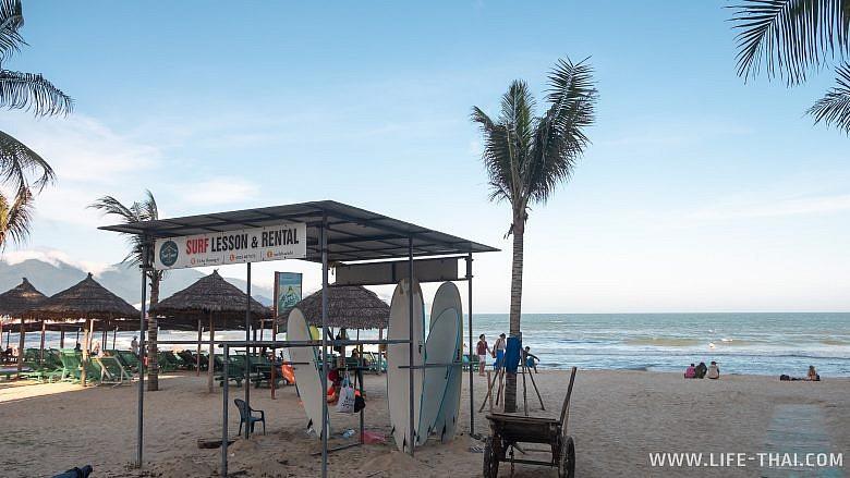 Прокат досок для сёрфинга в Дананге