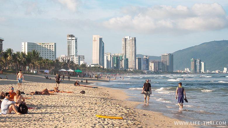 Лучшие пляжи Дананга