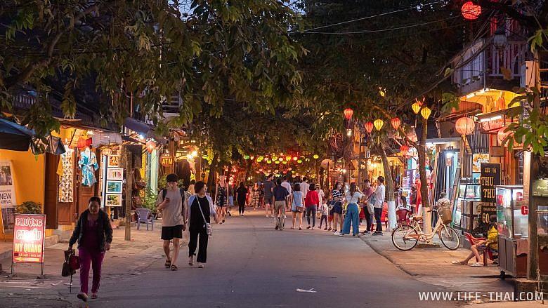 Улицы старого города в Хойане