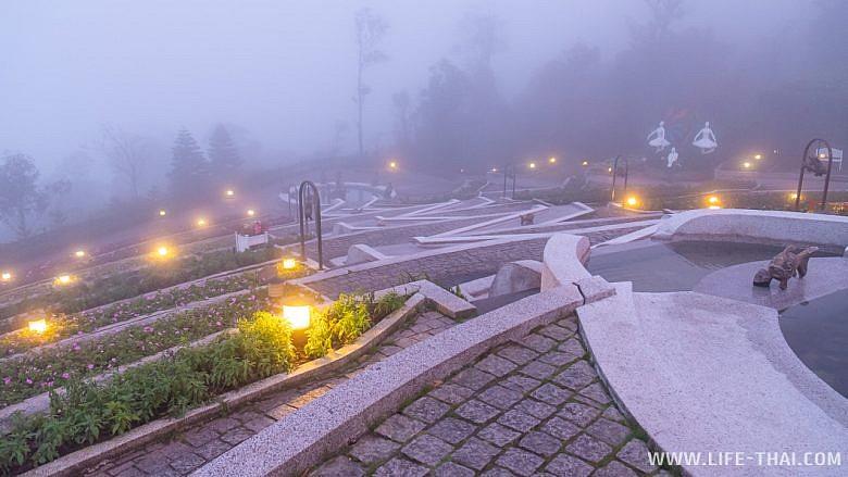 Туман в Bana Hills