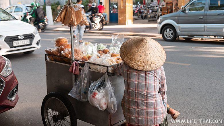 Лоток с уличной едой, Нячанг