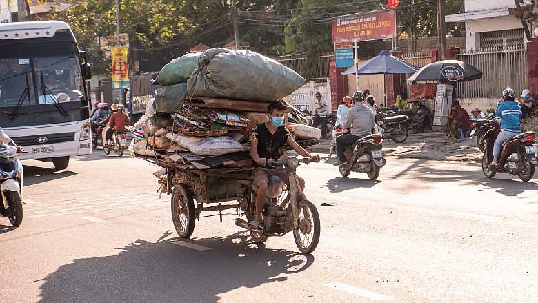 Типичная дорога в Нячанге