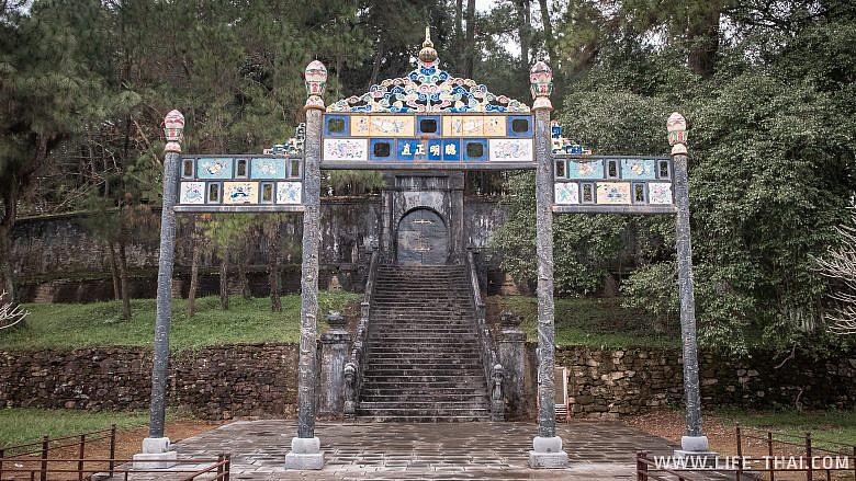 Место захоронения Минь Манга