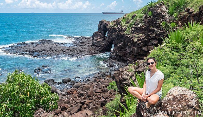 Я на Маврикии