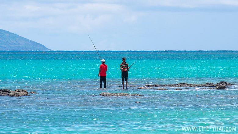 Рыбаки на Маврикии