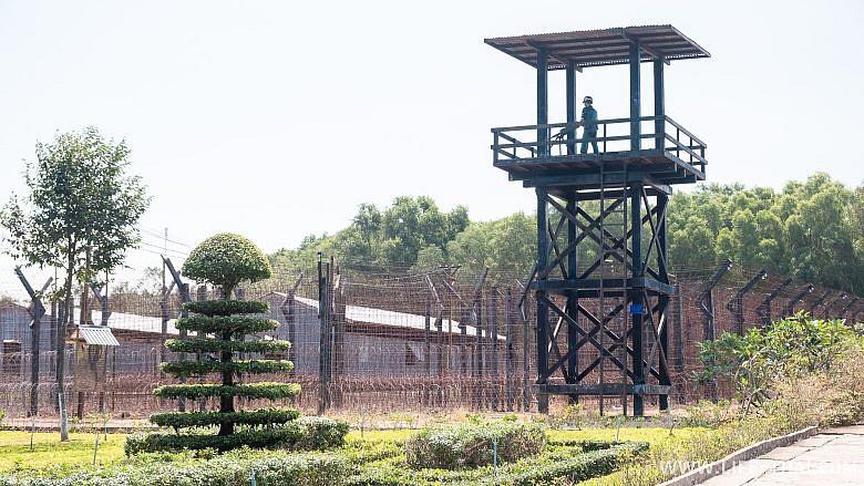 Бамбуковая тюрьма на острове Фукуок