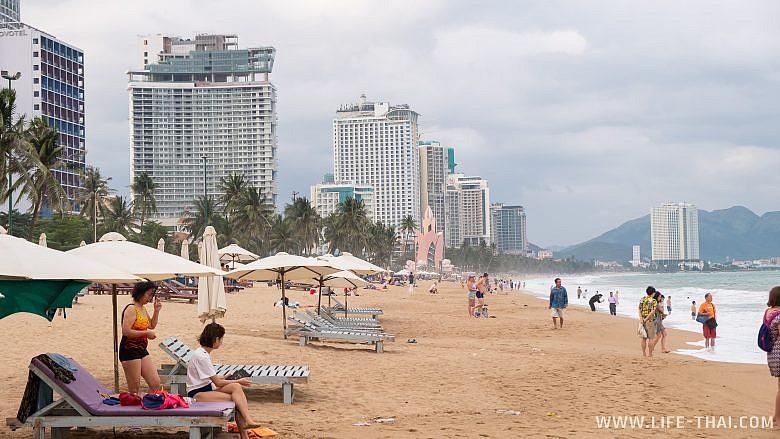Пляж в Нячанге отличный