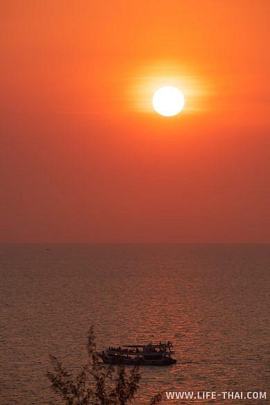 Вид из отельного номера Gaia Hotel Phu Cuoc