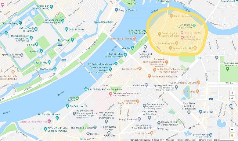 Район в Хюэ, где искать отель или гестхауз