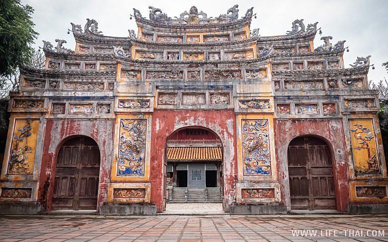 Ворота внутри Цитадели
