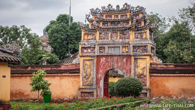 Пурпурный городв в Хюэ, Вьетнам