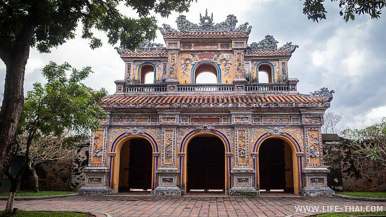 Западные ворота Цитадели в Хюэ