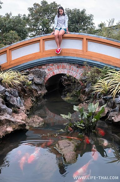 Королевский сад в Цитадели в Хюэ
