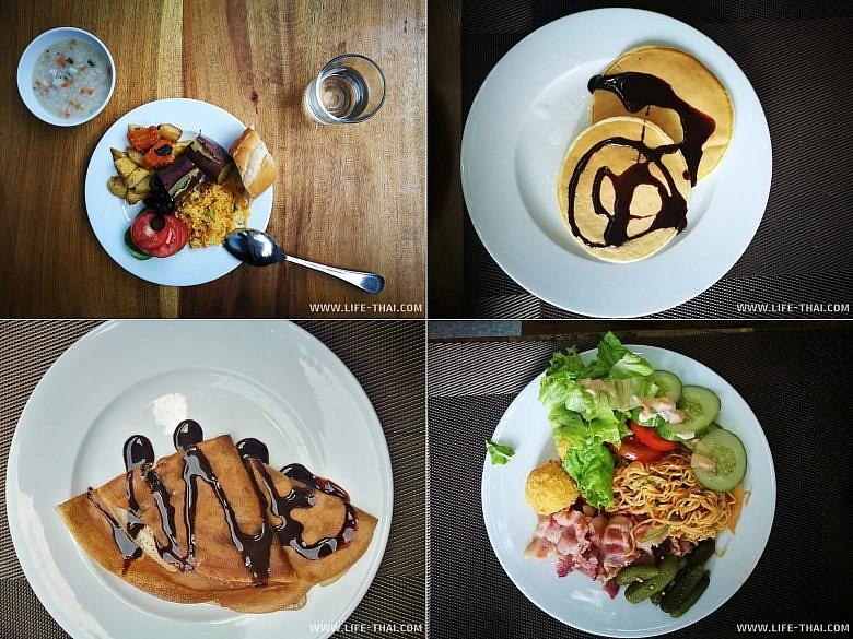 Завтрак в отеле Gaia