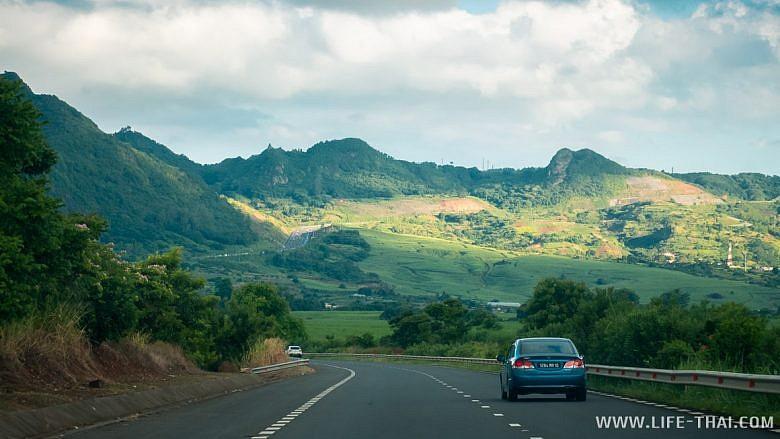 Дороги на острове Маврикий