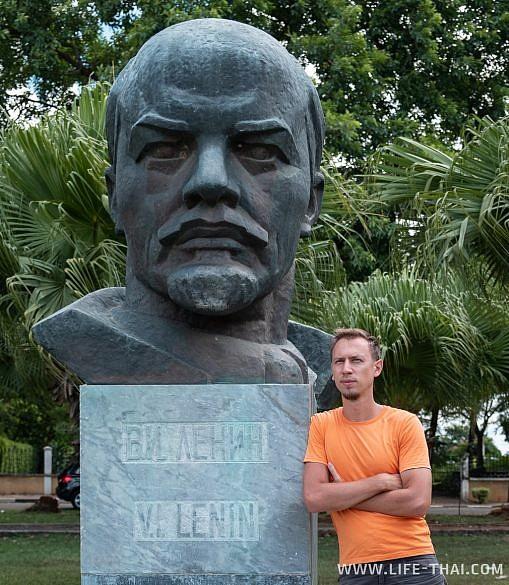 Бюст Ленина в Порт Луи, Маврикий
