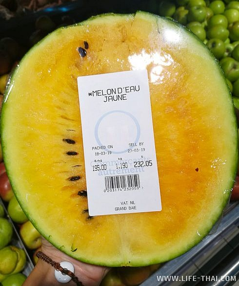 Фрукты на Маврикии дорогие