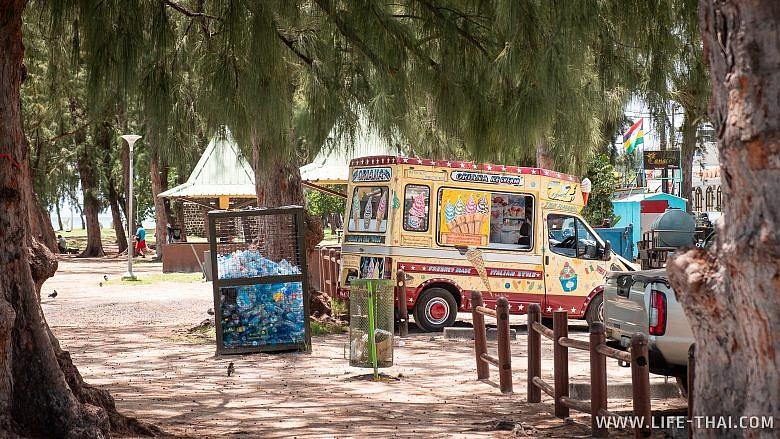 Фургон мороженщика на Маврикии