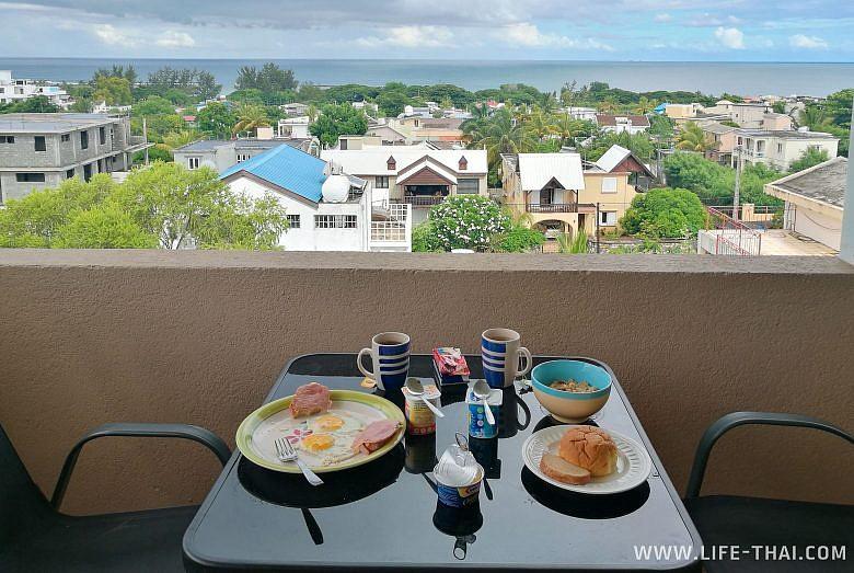 Квартира, в которой мы жили на Маврикии
