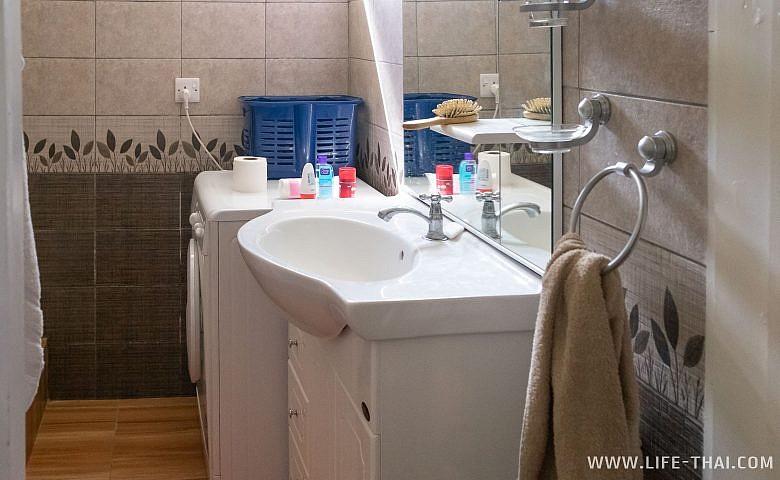 Ванная комната в жильё на Маврикии