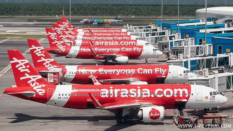 Улетаем из Куала Лумпура в Паттайю на AirAsia