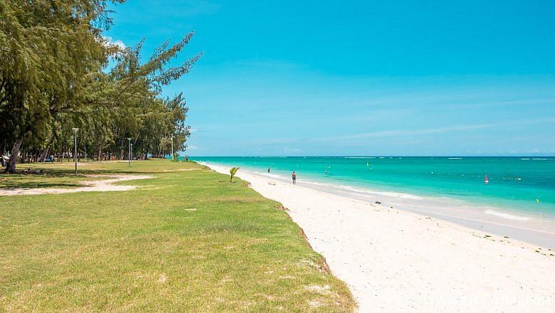 Пляж Флик-н-Флак на Маврикии