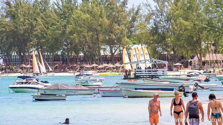 Пляж Мон Шуази, фото, отзыв