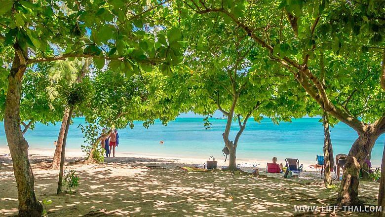Пляж Мон Шуази на Маврикии