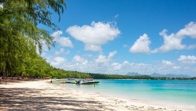 Отдых на пляже Мон Шуази (Mont Choisy), Маврикий