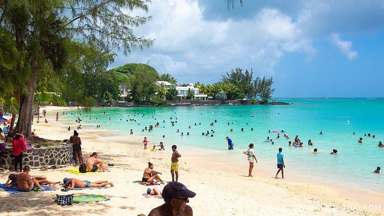 Пляж Перебер бич на Маврикии, отзыв