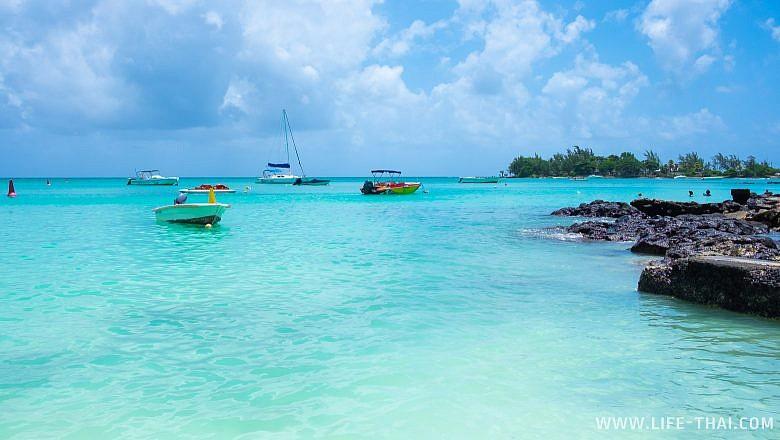 Топ лучших пляжей Маврикия - Перебер бич