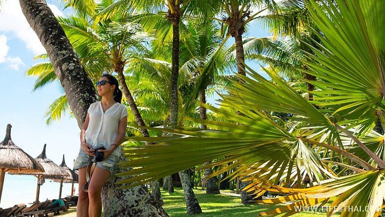 Пляж Тру Окс Биш на Маврикии