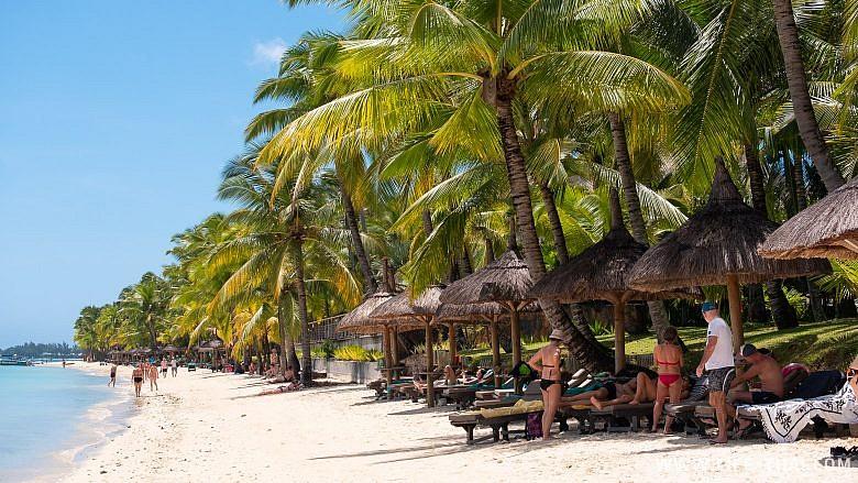 Тру Окс Биш - лучший пляж Маврикия