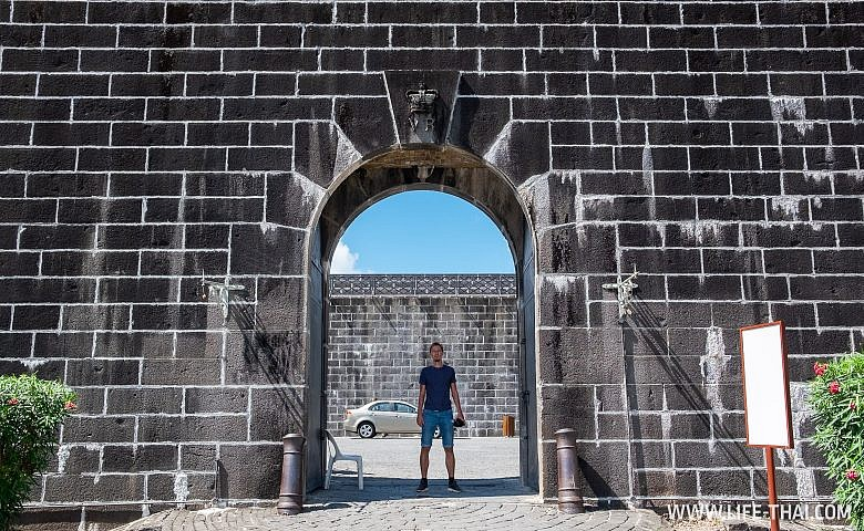 Форт Аделаида над Порт Луи, Маврикий