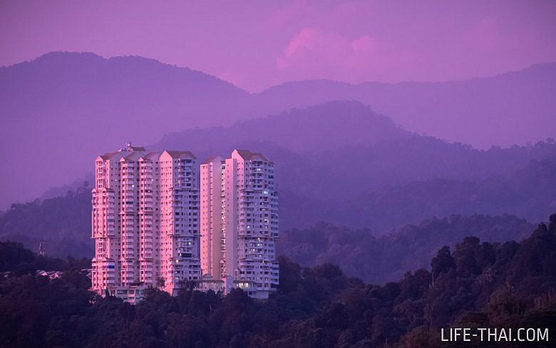 Закат в Куала Лумпуре