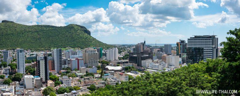 Порт Луи, столица Маврикия