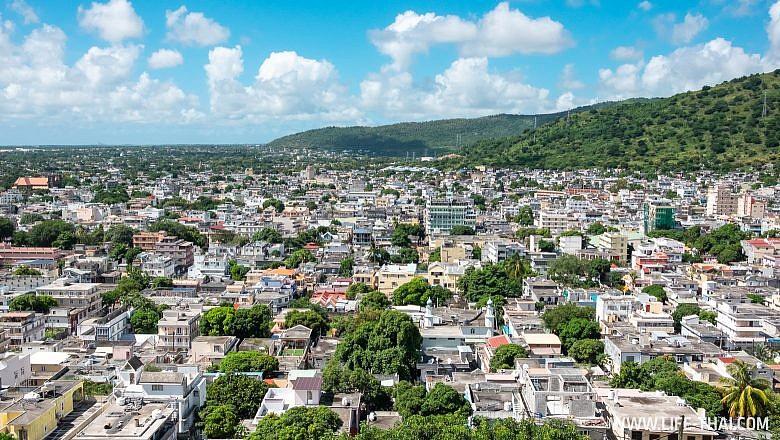 Город Порт Луи на Маврикии