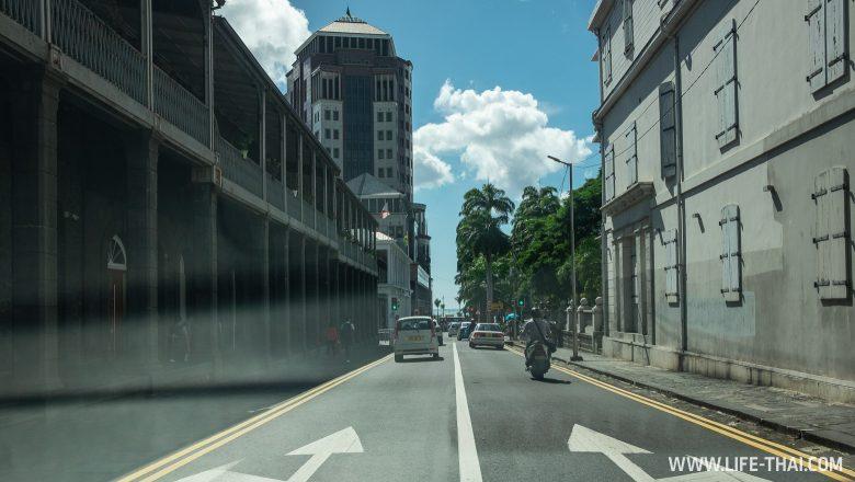 Столица Маврикия на фото