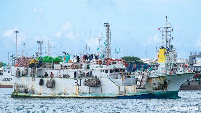 Порт в столице Маврикия
