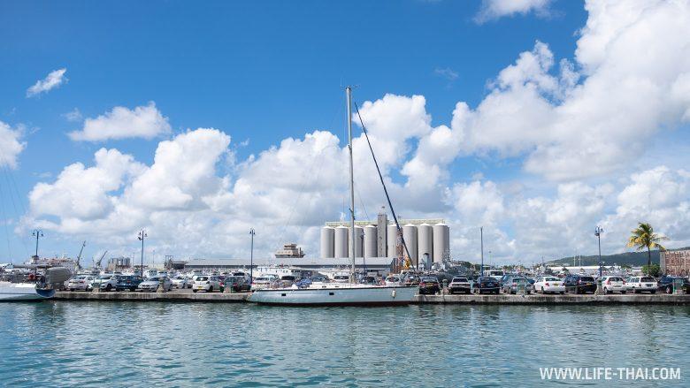 Порт на Маврикии