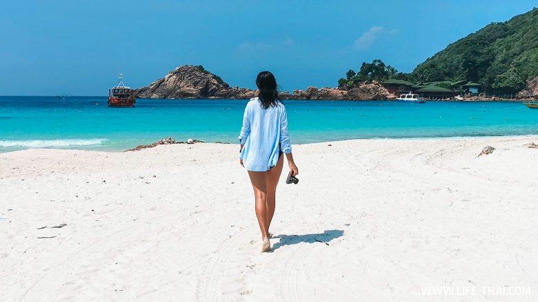Пляж на острове Реданг, Малайзия