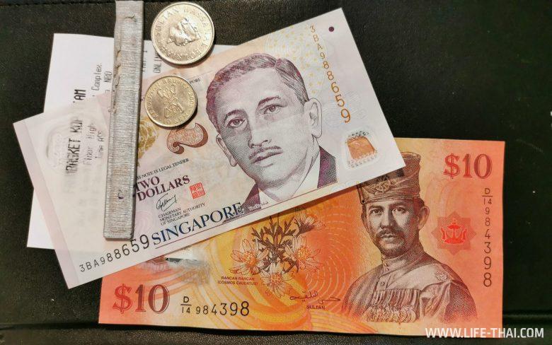 Деньги в Брунее