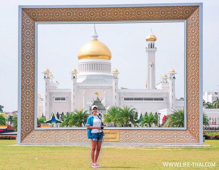 Рамка - одна из достопримечательностей Брунея