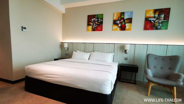 Номер в хорошем отеле в Брунее