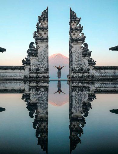 Пура Лемпуя - достопримечательность Бали