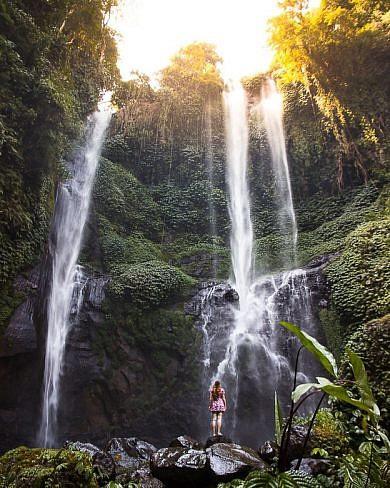Водопады на Бали - то, что стоит увидеть на острове