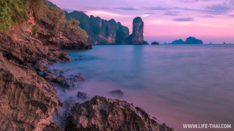 Закат в Краби, Таиланд
