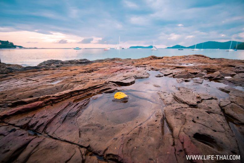 Закат на пляже Ао Йон на Пхукете