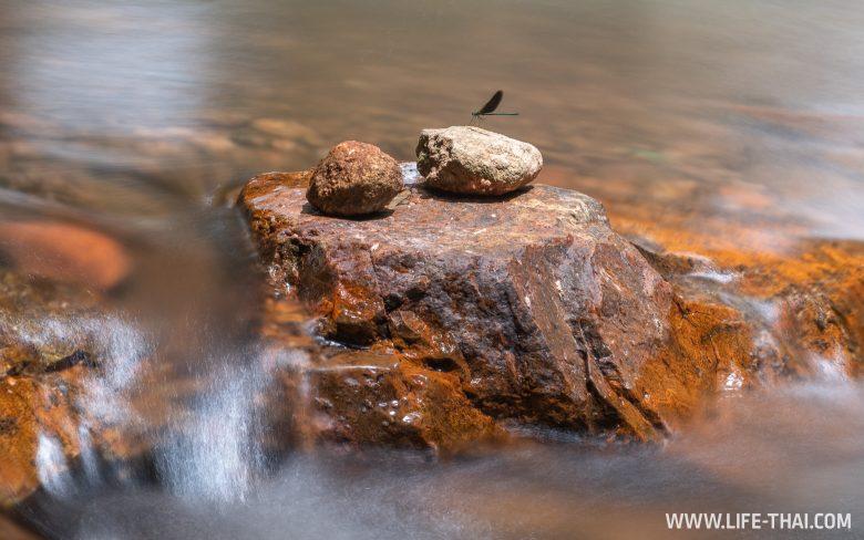 Водопады в нац. парке Пханом Бенча, Краби