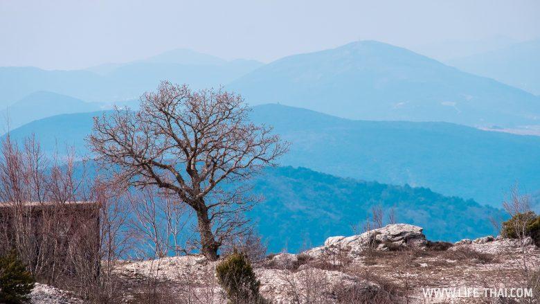 Горный пейзаж в Черногории
